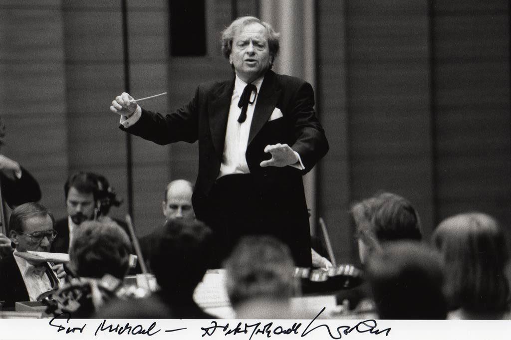 Dieter-Gerhardt Worm ist der Dirigent, der mich in meinem Wunsch bestärkt und sämtliche Selbstzweifel ausgeräumt hat.