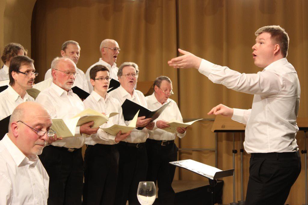Abschlusskonzert des 41. Sächsischen Chorleiterseminars 2016 in Freiberg.